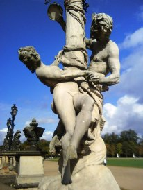 Prussian's favorite God - Dionysos teasing and seducing naked girl