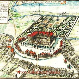 Zabór, castle of German's last and fake Empress Hermine