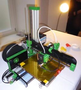 Der kleine 3-D-Drucker zum selber bauen.