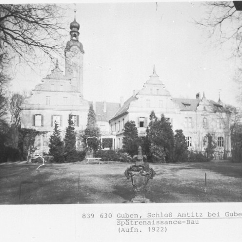 Gębice - Schloss Amtitz - home of Berlin's filmstars and celebrities during the allied bomb raids in WWII