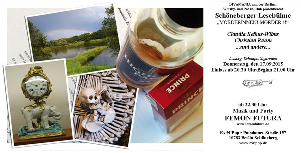 FLYER Whiskyclub 17 September