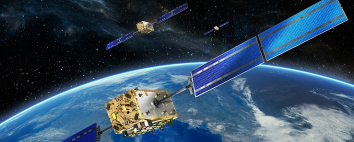 Galileo Satelliten (Quelle: OHB Systems AG)