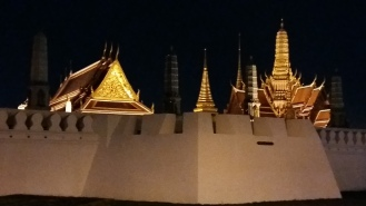 Congratulation! We arrived at Royal Palace, turnd round and raced back South.
