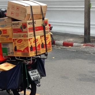 Flipflopped Nestlé delivery boy