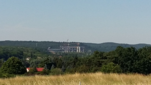 Only Germans can build a place like that in the middle of nowhere. The two Schiffshebewerks in Niederfinow. They link Szczecin's coal harbour to Berlin's power plants.