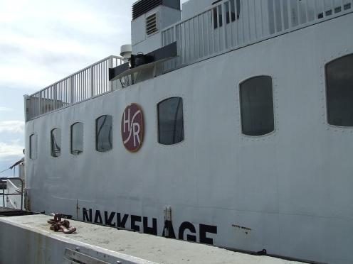... while this pitoreske little ship links Hundestad to Rørvig.