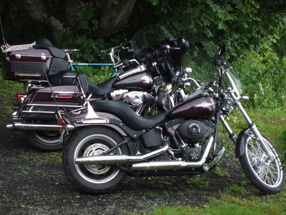Ungleiche Cousins: Motorräder und Fahrrad