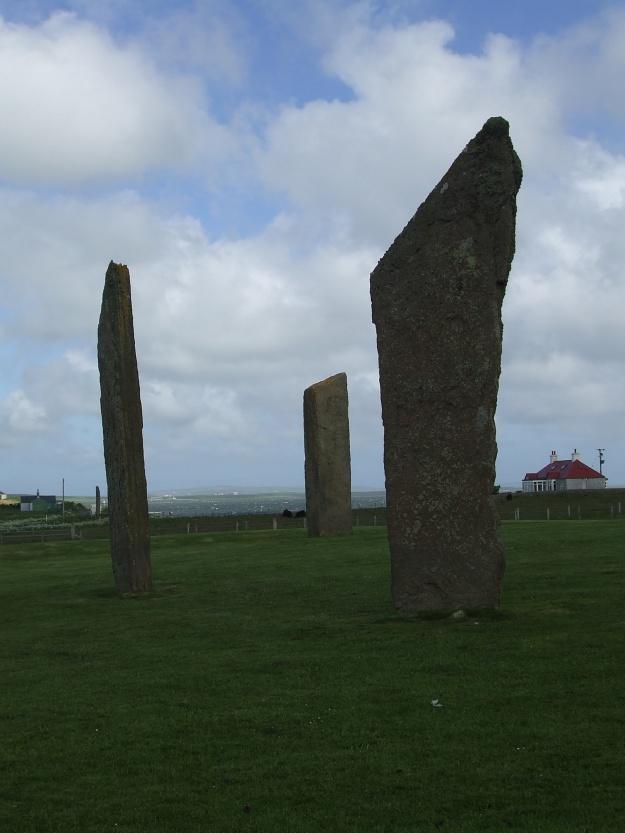 """.... wir haben auf den Orkneys einige Königsgräber und Heiligtümer und Steinkreise."""""""