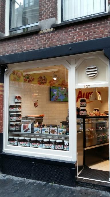 Amsterdam 2016 Nutella