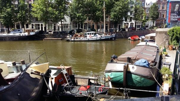 Amsterdam 2016 Boote