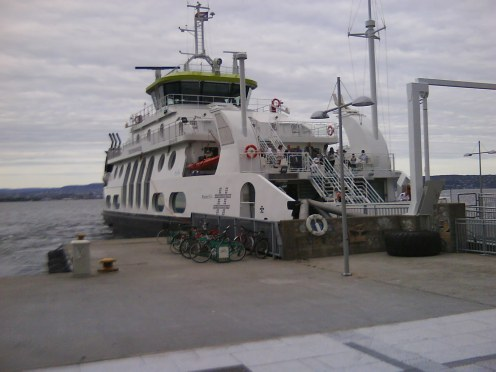 Come on board and ferry over to Oslo. City is smiling and waiting for us...