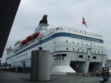Boarding #16... The Princess travels down Oslo sund and crosses Baltic Sea.