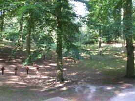 Świnoujście 3 ... burial site ... Oslo raids were revanged by allied bombings.