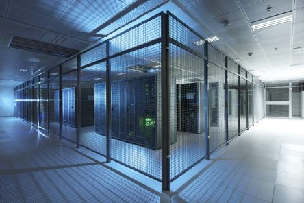 Cloud-Computing Rechenzentrum der T-Systems